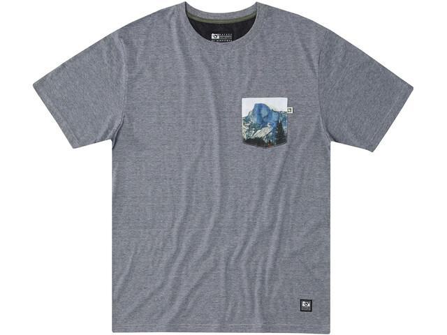 Hippy Tree Muir T-shirt Homme, heather grey